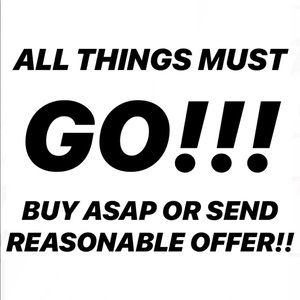 Other - MUST SELL ALL ITEMS!!!